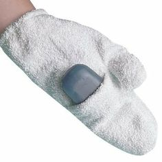 This also works so well for insect bites!  The terry cloth feels so good on itchy bites and the soap treats the bite.  It's just GONE.  It might take 2 applications.  Terry Soap Mitt