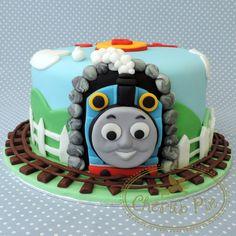 Thomas the Tank Engine Cake - Cherub Pie