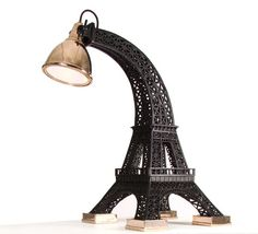 Furniture Design Ideas : Paris Lamp And Taj Mahal Tour Eiffel Lamp and Taj Mahal Table: Appealing or Tacky? Lampe Tour Eiffel, Eiffel Tower Lamp, Eiffel Towers, Paris Rooms, Paris Bedroom, Paris Bedding, Unique Furniture, Contemporary Furniture, Furniture Design