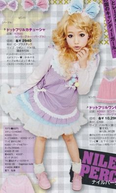 Fairy kei sewing dress idea :D