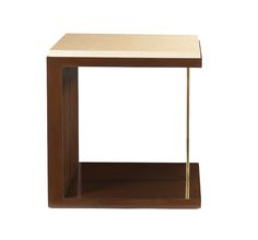 Kanoy End Table  Transitional, Wood, Side Table by Edward Ferrell  Lewis Mittman