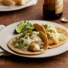 Baja Style Fish Tacos Recipe #recipes #cincodemayo