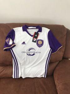 Adidas Climalite Orlando City SC MLS Soccer Jersey NWT Size L Youth  | eBay