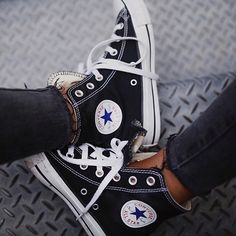 Favourite shoes of all times! 🐼 // #converse 💫
