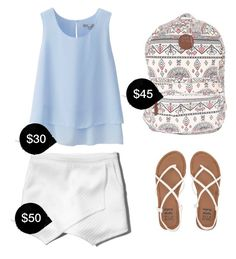 """""""My First Polyvore Outfit"""" by stephanyccardoso ❤ liked on Polyvore featuring Uniqlo, Abercrombie & Fitch and Billabong"""