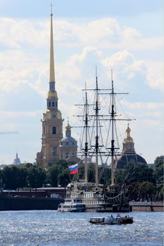 Peter and Paul Fortress in St. Petersburg, Russia.