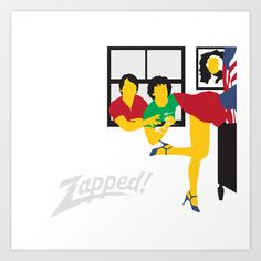Zapped Art Print by Andy Rohr - $18.00