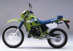 Kawasaki KMX200 89