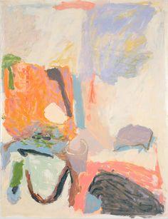 "LORI GLAVIN ""Path to the Pond"" 2016 50"" x 38"" (127 cm x 97 cm) Oil on Gessoed Paper"