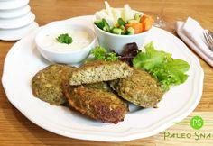 Recept na pečené brokolicové karbanátky s tatarskou omáčkou je nejen lahodný, ale i rychlý. Během 35 minut budete mít na stole chutné a zdravé paleo jídlo. Paleo Whole 30, Low Carb Keto, Meatloaf, Lchf, Steak, Dinner, Fit, Recipes, Whole30