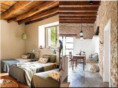 Lakásfelújítási ötletek, rusztikus design - Antik bútor, egyedi natúr fa és loft designbútor, kerti fa termékek, akácfa oszlop, akác rönk, deszka, palló Weekend House, Cottage Homes, Divider, Projects To Try, Loft, Country, Design, Furniture, Houses