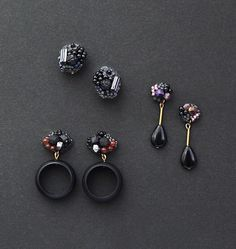 Beaded Earrings, Belly Button Rings, Handmade Jewelry, Beads, Ear Rings, Beading, Handmade Jewellery, Jewellery Making, Bead