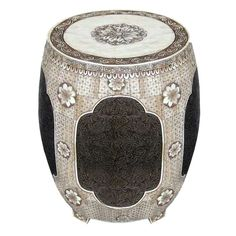 Bone Drum Stool .. Stunning!!!!!!!!!!!