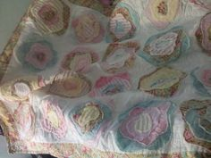 A sweet quilt I made for my friend Kristies girl Mila! French Rose Quilt