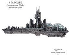 Stargate Ships, Stargate Atlantis, Stargate Universe, Starship Concept, Sci Fi Fantasy, Diorama, Spaceship, Trek, Science Fiction