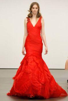 Vera Wang Spring 2013 | Wedding Dresses Style | Brides.com