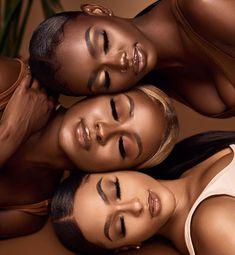 Black Brown Universe Pretty Black Girls, Beautiful Black Girl, Black Girl Art, Black Girl Magic, Black Girl Weave, Glam Photoshoot, Photoshoot Themes, Photoshoot Inspiration, Dark Skin Makeup