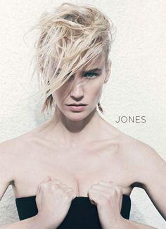 January Jones, I love her hair she is looking fierce!