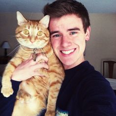 Connor Franta watch his videos on YouTube. He's super funny and awesome.