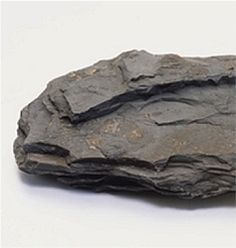 Shale is a fine-grained sedimentary rock that forms from the compaction of silt and clay-size mineral particles. Black shale contains organic material that can generate oil and natural gas, and that can also trap the generated oil and natural gas within its pores.