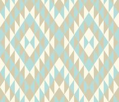 Baby West Pale Star fabric by spellstone on Spoonflower - custom fabric
