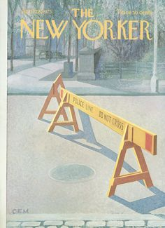 The New Yorker - Saturday, April 28, 1973 - Issue # 2515 - Vol. 49 - N° 10 - Cover by : Charles E. Martin