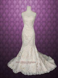 #Mermaid #Wedding #Dress ♡ For how to organise an entire wedding https://itunes.apple.com/us/app/the-gold-wedding-planner/id498112599?ls=1=8 ♥ THE GOLD WEDDING PLANNER iPhone App ♥  http://pinterest.com/groomsandbrides/boards/ for an abundance of wedding ideas ♡