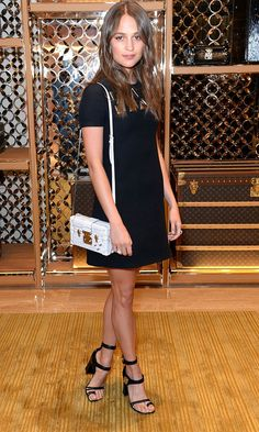 Alicia Vikander Gives Us Bag Envy