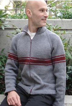 Carboy Men Sweater by Jesse Loesberg
