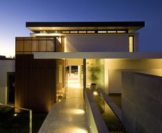 Bruce Stafford Architects have designed the G House in Sydney, Australia.