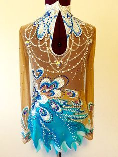Professional Competition Rhythmic Gymnastics Leotard by Savalia