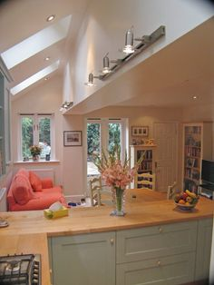 The London Kitchen Extension Co. – Photos from Recent Projects … The London Kitchen Extension Co. – Photos from Recent Projects … Kitchen Open Concept, Open Plan Kitchen, Kitchen Units, Kitchen Island, Kitchen Ideas, Style At Home, Beautiful Kitchens, Cool Kitchens, Conservatory Kitchen