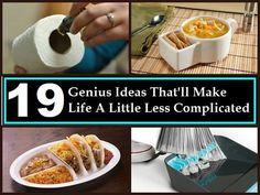 19 Genius Ideas That'll Make Life A Little Less Complicated | DIYSelfies