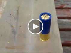 Most destructive 12ga shotgun round ever made that destroys bulletproof glass – Tim from Tactical G-Code makes his own particular slugs and shotgun pellets. Some of them are really merciless – ready to slice through practically anything. His most recent? A round nose metal pellet that can hurdle
