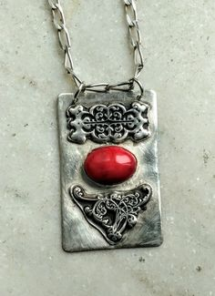 Jewelry Making, Coral, Pendant Necklace, Pure Products, Silver, Money, Jewellery Making, Drop Necklace, Make Jewelry