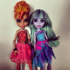 the clothes from the disney fairies fit the smaller monsters nicely!the fairy shoes are too small for mh. Monster High Toys, Monster Dolls, Howleen Wolf, Anime Lips, Fairy Shoes, Disney Fairies, Doll Stuff, My Baby Girl, Baddies