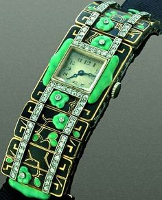 Vacheront Constantin: creation by Vacheron Constantin, Verger brothers/1924 Art Deco