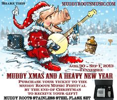 A Muddy Christmas to all! We've got gifts y'all!     www.muddyrootsmusic.com Xmas, Christmas, Tennessee, Roots, Movie Posters, Fictional Characters, Art, Art Background, Film Poster