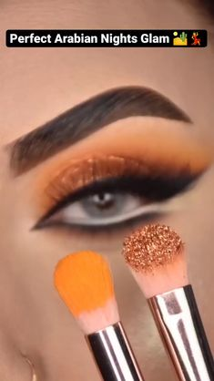 Smoky Eye Makeup, Eye Makeup Steps, Makeup Eye Looks, Eye Makeup Art, Natural Eye Makeup, Eyebrow Makeup, Eyeshadow Makeup, Gold Eyeshadow Looks, Cute Eye Makeup