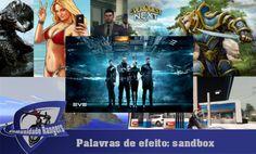 Palavras de efeito: sandbox Banner B