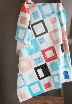 Easy Stack, Cut, and Sew Blocks and Crib Quilt