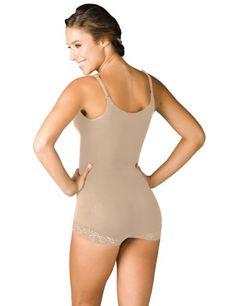 caf9c670db Sakkas 6842 Seamless Lace Trim Boyshort Bodysuit Shapewear Nude S   gt  gt  gt