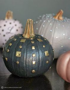 diy fancy pumpkins