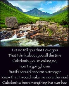 """Caledonia"" is a Latin name for Scotland :) LOVE this song! Mary Queen Of Scots, Celtic Thunder, Irish Celtic, England And Scotland, Scottish Highlands, English Countryside, My Heritage, Going Home, Ireland"
