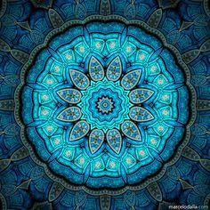 ☮ American Hippie ☮  Art .. Mandala