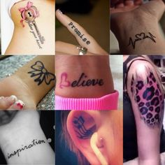 Some Cute Tattoos