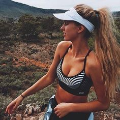 Give a girl Lorna Jane and she can take on the WORLD! @lanipratthedger in our St Tropez sports bra   #thisisactiveliving #lornajane #activeliving #movenourishbelieve