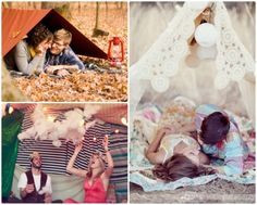 Engagment photo ideas... Love the white tent :)