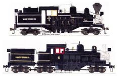 "Shay ""I Love Steam"" Engine Drawings"