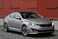 Cheapest Vehicles to Insure | Kia Optima - Affordability, good crash ratings make this a cheap model to insure!